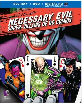 Necessary Evil: Villains of DC Comics (Blu-ray + DVD)