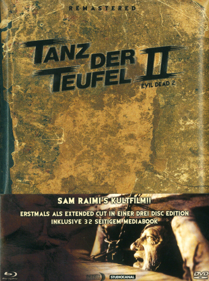 Tanz der Teufel 2 - 25th - (Limited Extended Cut / 2 Discs & DVD) (1987) (Anniversary Edition)