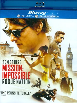 Mission Impossible 5 - Rogue Nation (2015) (2 Blu-rays)