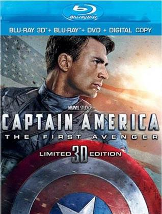 Captain America - The First Avenger (2011) (Blu-ray 3D (+2D) + Blu-ray + DVD)