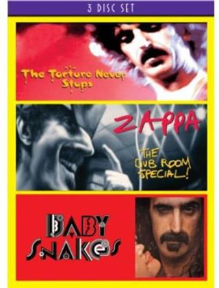 Frank Zappa - The Torture Never Stops / The Dub Room Special / Baby Snakes (3 DVDs)