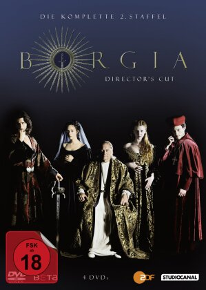 Borgia - Staffel 2 (Director's Cut, 4 DVD)