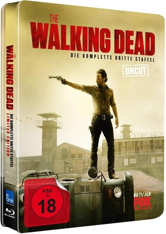 The Walking Dead - Staffel 3 (Edizione Limitata, Steelbook, Uncut, 5 Blu-ray)