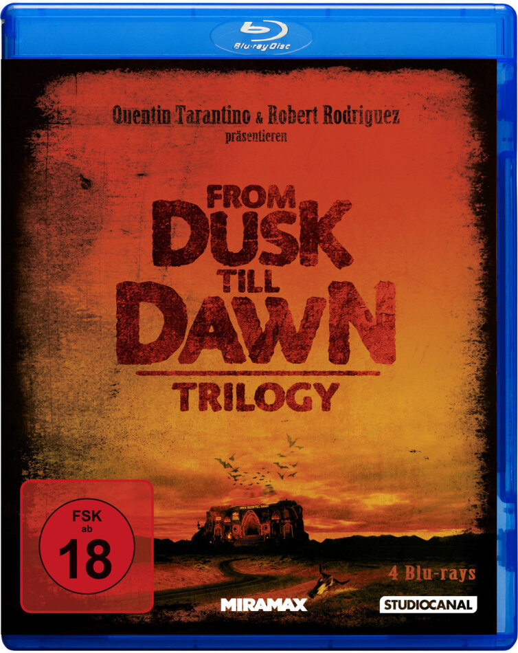 From Dusk Till Dawn - Trilogy (3 Blu-rays)