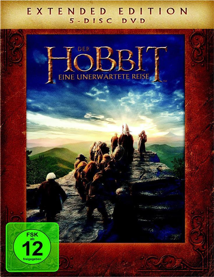 Der Hobbit - Eine unerwartete Reise (2012) (Extended Edition, 5 DVDs)