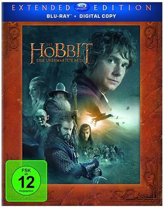 Der Hobbit - Eine unerwartete Reise (2012) (Extended Edition, 3 Blu-rays)