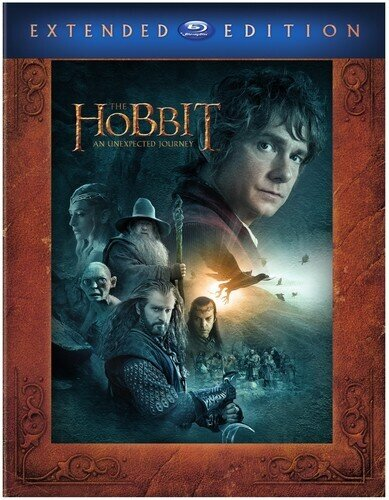The Hobbit - An Unexpected Journey (2012) (Extended Edition, 3 Blu-rays)