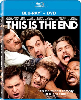 This is the End (2013) (Blu-ray + DVD)