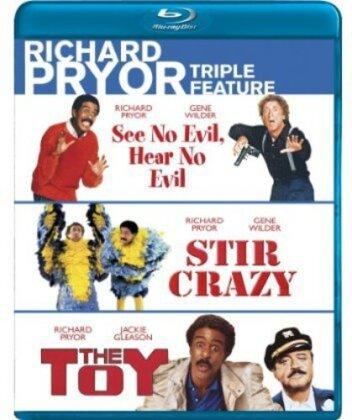 See No Evil, Hear No Evil / Stir Crazy / The Toy - (Richard Pryor Triple Feature 3 Discs)