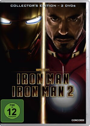 Iron Man 1 + 2 (Collector's Edition, 2 DVDs)