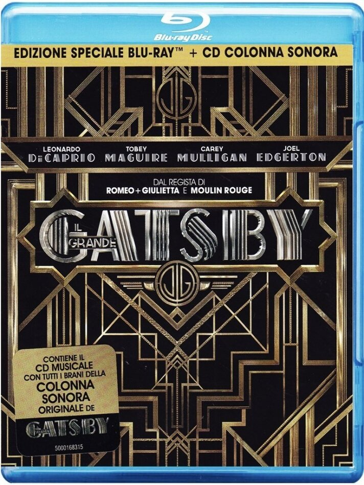 Il Grande Gatsby (2013) (Special Edition, Blu-ray + CD)