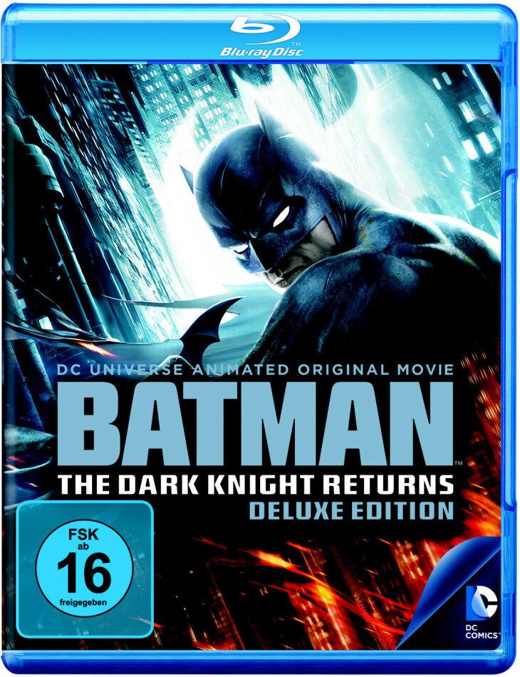 Batman - The Dark Knight Returns Vol. 1 + 2 (Deluxe Edition, 2 Blu-ray)