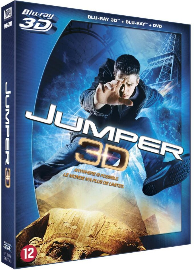 Jumper (2008) (Blu-ray 3D (+2D) + DVD)