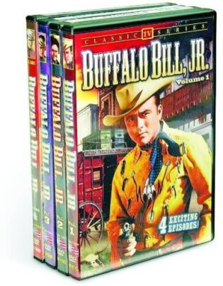 Buffalo Bill, Jr. - Vol. 1-4 (b/w, 4 DVDs)