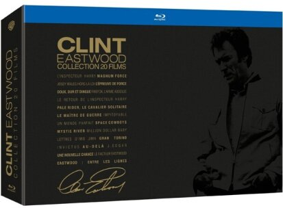 Clint Eastwood Collection - 20 films (Limited Edition, 20 Blu-rays)