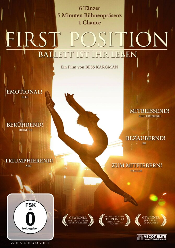 First Position (2011) (Mediabook, Blu-ray + DVD)