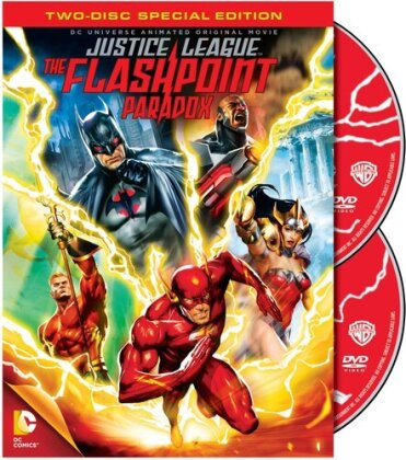 Justice League - The Flashpoint Paradox (2013) (Special Edition, 2 DVDs)