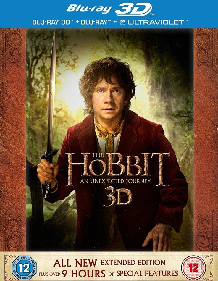 Hobbit: An Unexpected Journey - Hobbit: An Unexpected Journey [Extended Edition] (2012) (Extended Edition, 5 Blu-ray 3D (+2D))