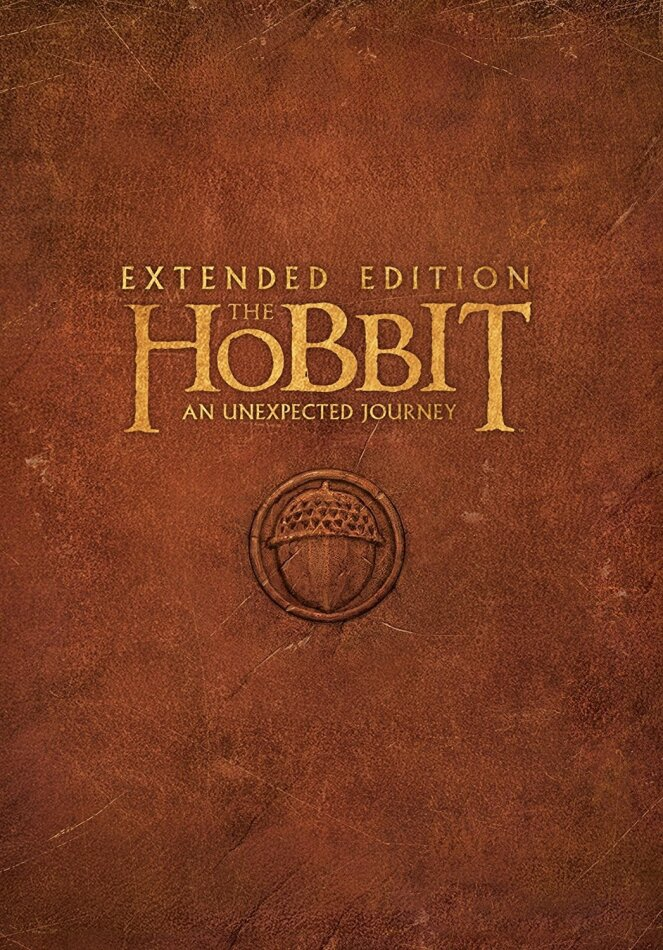 The Hobbit - An Unexpected Journey (2012) (Extended Edition, 5 DVDs)