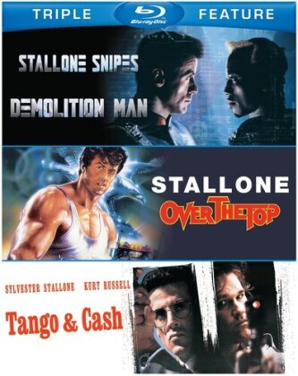 Demolition Man / Over the Top / Tango & Cash - Sylvester Stallone Triple Feature (3 Blu-rays)