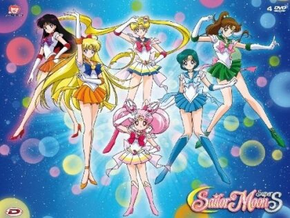 Sailor Moon Super S - Stagione 4 - Box 2 (Remastered, 4 DVDs)