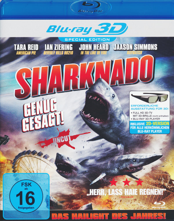 Sharknado (2013) (Uncut)
