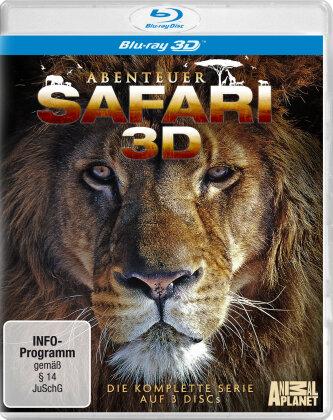 Abenteuer Safari - Die komplette Serie (3 Blu-ray 3D (+2D))