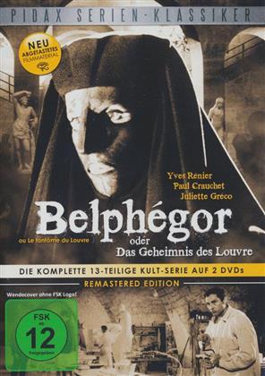 Belphégor oder Das Geheimnis des Louvre (Pidax Serien-Klassiker, Remastered, 2 DVDs)
