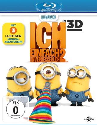 Ich - Einfach Unverbesserlich 2 (2013) (Blu-ray 3D + Blu-ray)