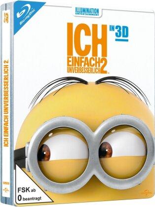 Ich - Einfach Unverbesserlich 2 - Despicable Me 2 (2013) (Steelbook, Blu-ray 3D + Blu-ray)