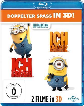 Ich - Einfach Unverbesserlich 1 & 2 (4 Blu-ray 3D (+2D))
