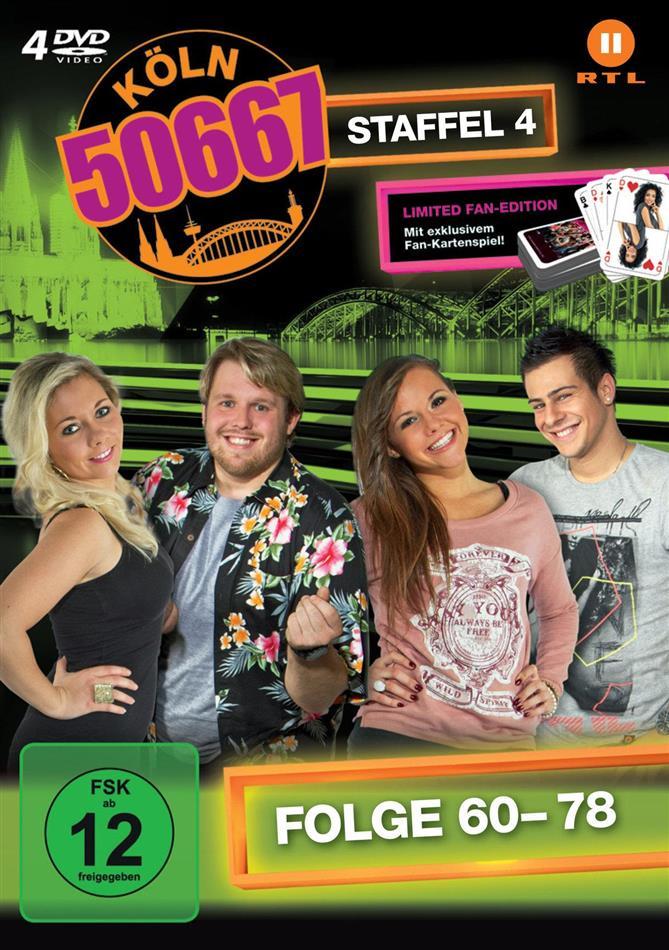 Köln 50667 - Staffel 4 (Fan Edition, Limited Edition, 4 DVDs)