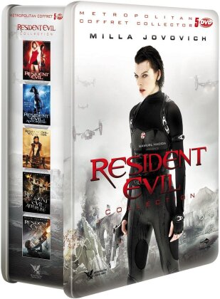 Resident Evil - Collection 1 - 5 (Limited Edition, Steelbook, 5 DVDs)