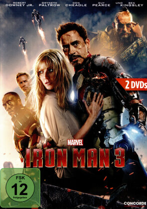 Iron Man 3 (2013) (Special Edition, 2 DVDs)