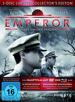 Emperor - Kampf um den Frieden (2012) (Limited Edition, Mediabook, Blu-ray + 2 DVDs)