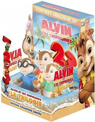 Alvin et les Chipmunks 1-3 (Edition Collector, Limited Edition, 3 DVDs)