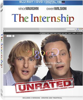 The Internship (2013) (Unrated, Blu-ray + DVD)