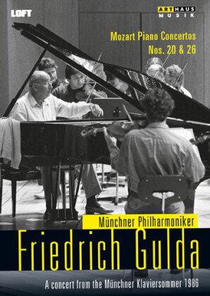 Münchner Philharmoniker & Friedrich Gulda (1930-2000) - Mozart - Piano Concertos Nos. 20 + 26 (Arthaus Musik)