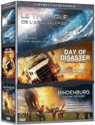 Coffret Catastrophe - Le Triangle de l'Apocalypse / Day of Disaster / Hindenburg (3 DVDs)