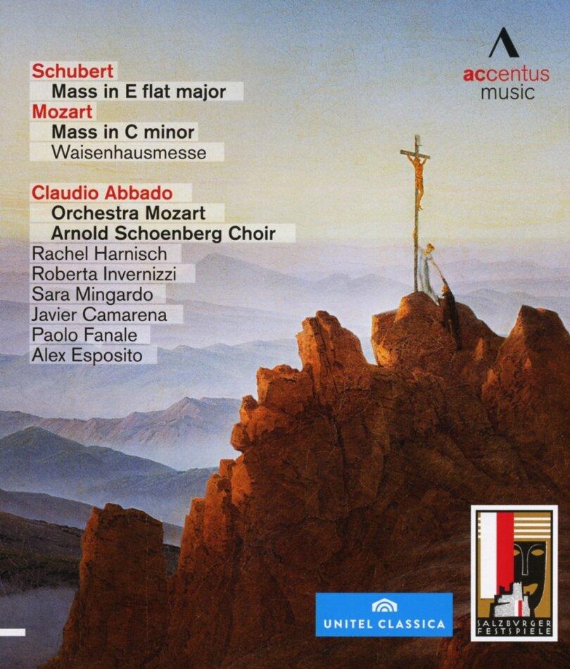 Orchestra Mozart Bologna, Claudio Abbado, … - Mozart / Schubert - Messen (Salzburger Festspiele, Accentus Music, Unitel Classica)
