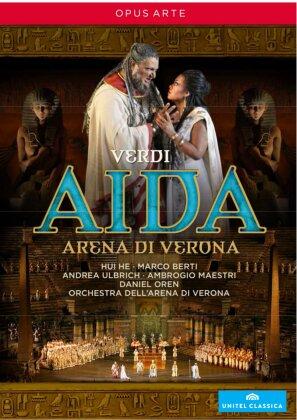 Orchestra dell'Arena di Verona, Daniel Oren, … - Verdi - Aida (Opus Arte, Unitel Classica)