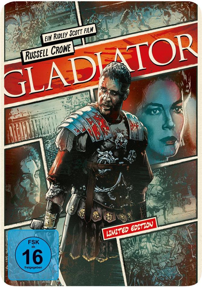 Gladiator (2000) (Limited Steelbook - Reel Heroes Edition)