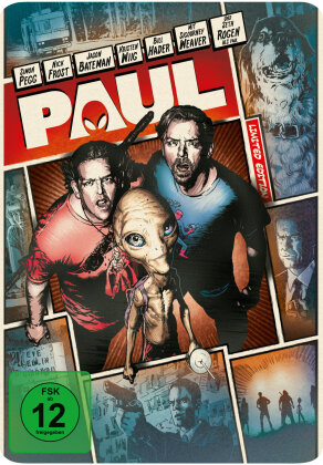Paul (2010) (Reel Heroes Edition, Limited Edition, Steelbook)