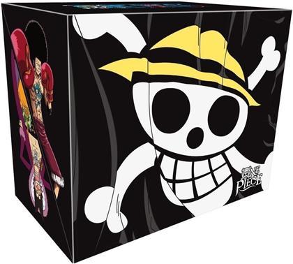 One Piece - Davy Back Fight Vol. 1-3 / Water 7 Coffrets 1 à 8 (Edizione Limitata, 33 DVD)