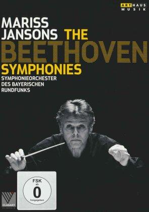Bayerisches Rundfunkorchester, Mariss Jansons, … - Beethoven - Symphonies Nos. 1-9 (Arthaus Musik, BR Klassik, 3 DVDs)