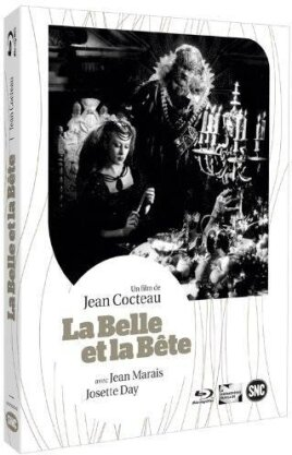 La belle et la bête (1945) (Deluxe Edition, s/w, Blu-ray + DVD)