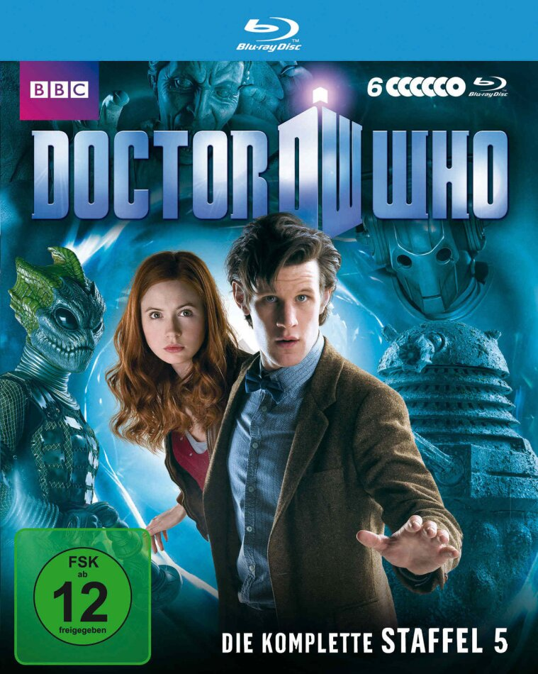 Doctor Who - Staffel 5 (6 Blu-rays)