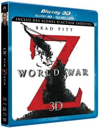 World War Z (2013) (Blu-ray 3D (+2D) + DVD)