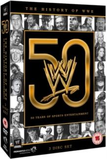 WWE: History of the WWE - 50 Years of Sports Entertainment (3 DVD)