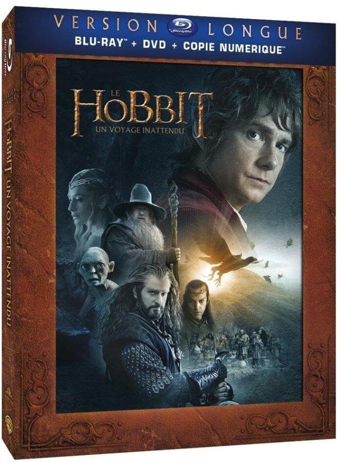 Le Hobbit - Un voyage inattendu (2012) (Langfassung, 3 Blu-rays + 2 DVDs)